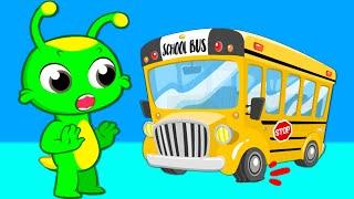 НОВЫЙ СОН Groovy Марсианин поет песню Колеса на автобусе Детский сад Стихи для детей