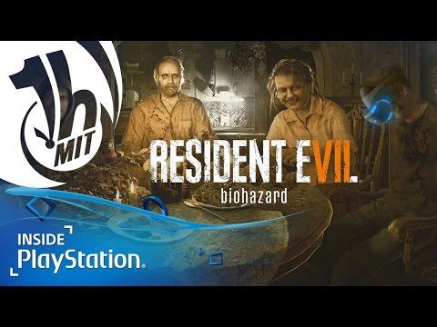 Resident Evil 7: PS VR Gameplay – Horror-Schocker in VR! | 1 Stunde mit