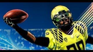 NCAA Football 14 Road to Glory - Hard Hitting CB Bridges Becoming a Superstar - Crazy Interceptions