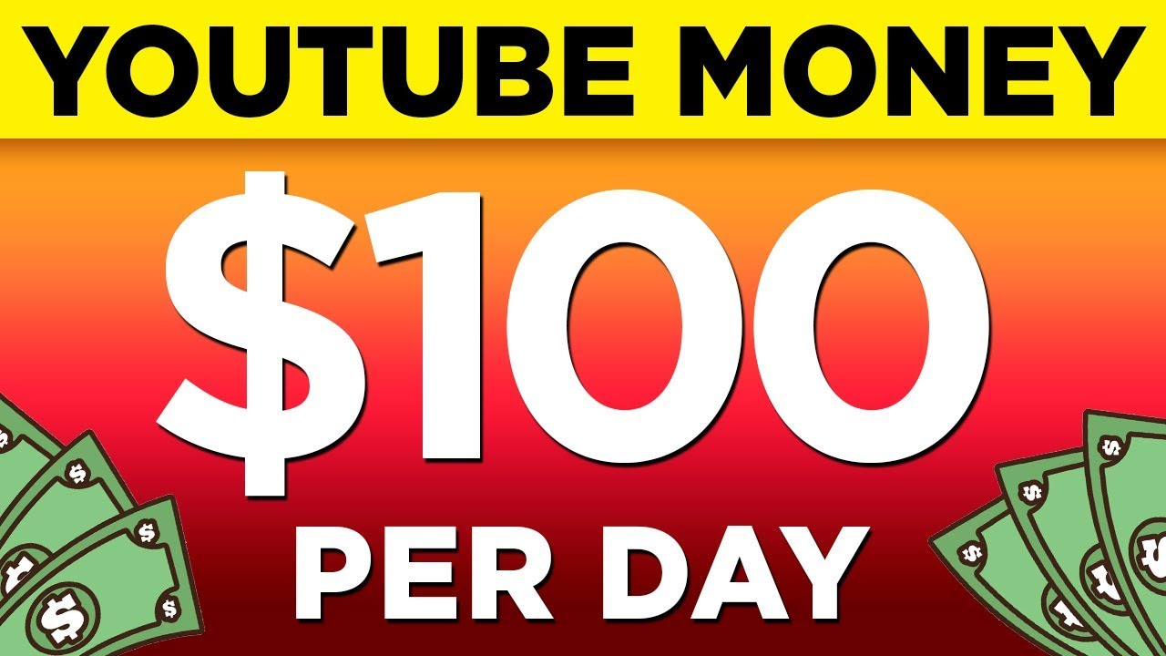 How To Make $100 a Day On YouTube - For Small Channels Or No Subscribers