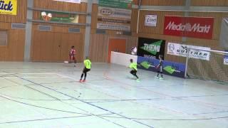 TuS Traunreut U12 Hallenmasters 2015 Spiel 3: TuS Traunreut-FC Bayern München 2:4
