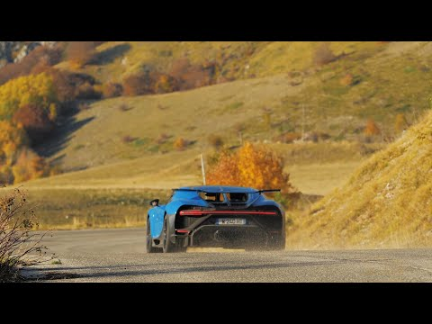 Chiron Pur Sport - A Drive Through The Appennini