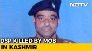 Police Officer Beaten To Death By Mob Of Over 200 Outside Srinagar Mosque
