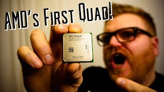 Can the original AMD Phenom x4 game in 2018?!?