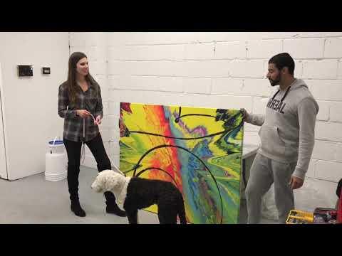 Happy Art Buyers & Studio Expanded - Callen Schaub Daily Vlog #9