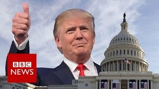 Trump's inauguration  An insider's tour   BBC News