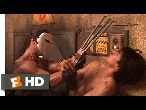 Street Fighter (1994) - Ryu vs. Vega Scene (8/10) | Movieclips