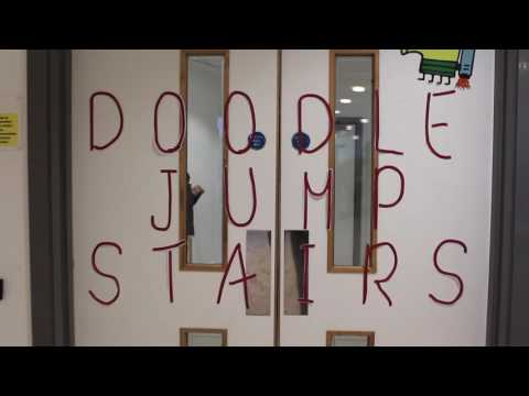 Fun Theory - Doodle Jump Stairs