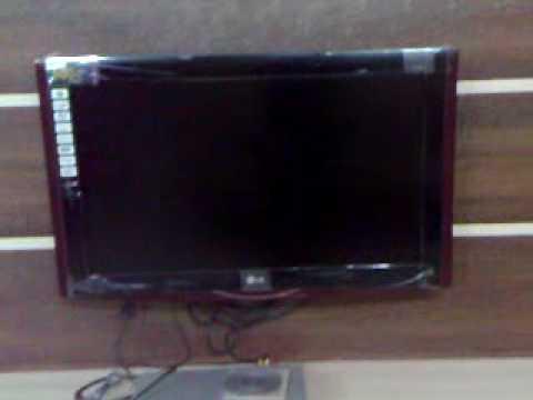 Lg Lcd Tv Video Review Exterior Model Lg Jazz 32lg80fr