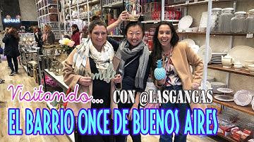 Bazar y deco Hunt en el Barrio Once de Buenos Aires con @LasGANGAS