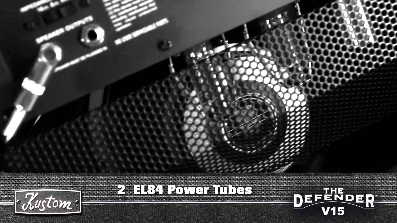 Kustom 1x12 Cabinet Kustom Defender V15 Sound Demo 1 Youtube