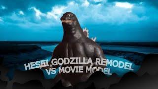 [Kaiju universe] Heisei Godzilla Compared to Original Heisei Godzilla