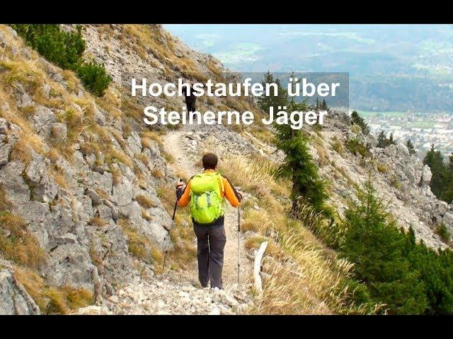 Hochstaufen, Steinerne Jäger, Bergwanderung in den Chiemgauer Alpen