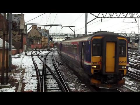 Glasgow to Edinburgh-on board an INTERCITY 225