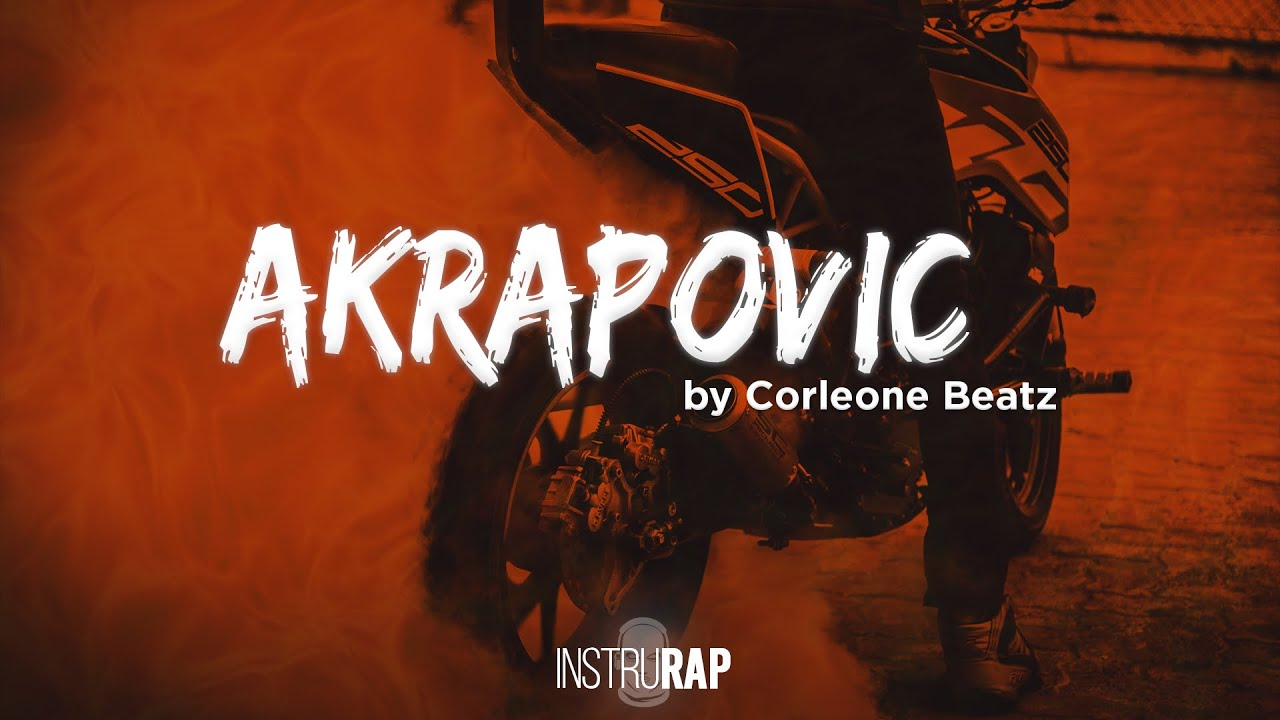 Download [FREE] Drill/Sombre Instrumental Rap   Instru Rap Lourd - AKRAPOVIC - Prod. By CORLEONE BEATZ