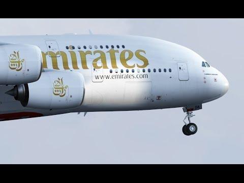Fsx Movie - Emirates A380