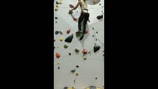 Finally, I am able to try rock climbing😊