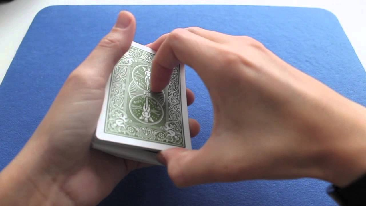 amazing and easy card trick the sloppy shuffle