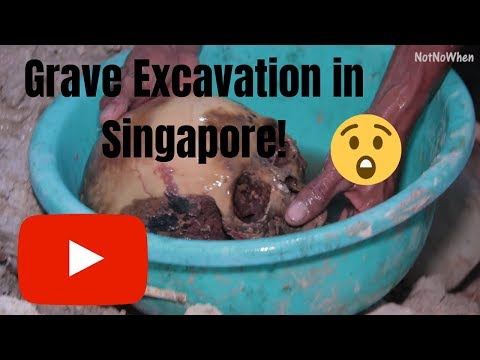 Grave Excavation | Grave Exhumation in Singapore Part 2/3 - Lim Chu Kang Cemetery