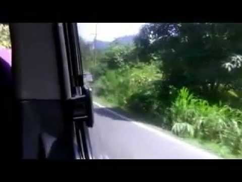 Driving in Roseau, Dominica HD
