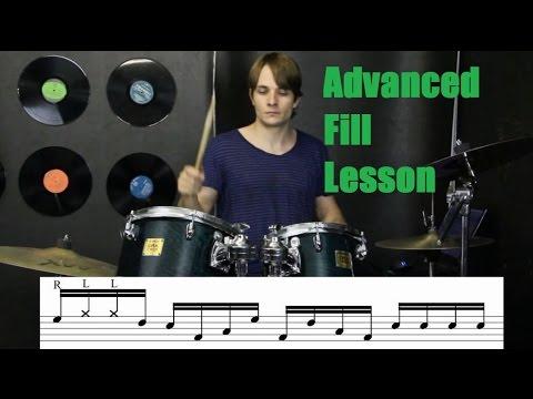 Advanced Drum Fill Lesson - Linear Chops