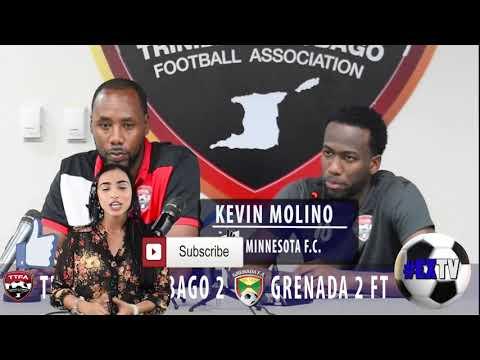 Kevin Molino Post Match Comments - Trinidad & Tobago 2 Grenada 2