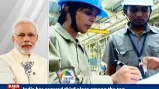 India has registered significant improvement in global rankings on economic indicators : PM Modi