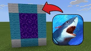 How To Make a Portal to the Jaws Dimension in MCPE (Minecraft PE)