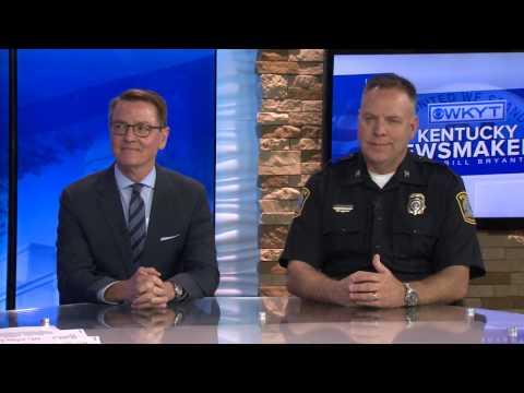Kentucky Newsmakers 4-30-17  Lexington Mayor Jim Gray & Police Chief Mark Barnard