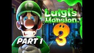 Luigi's Mansion 3 Gameplay Walkthrough Part 1 - Intro & First Boss!!! (Nintendo Switch)