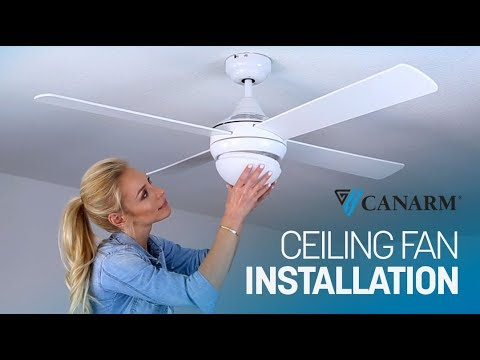 how-to-install-a-ceiling-fan-|-canarm