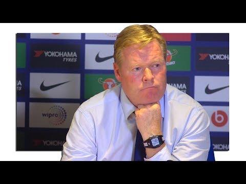 Chelsea 2-0 Everton - Ronald Koeman Full Post Match Press Conference - Premier League