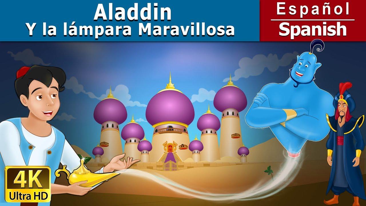 Aladino Y La L 225 Mpara M 225 Gica Cuentos Para Dormir