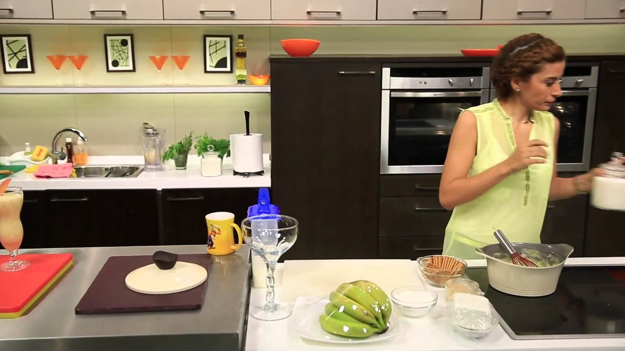 عصير زبادى بالخوخ و وصفات اخرى : اميرة في المطبخ حلقة كاملة