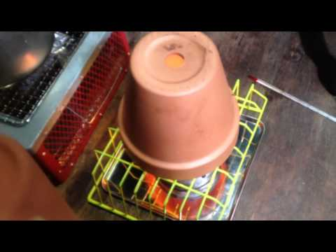 Japan Oil Candle Powered House Heater