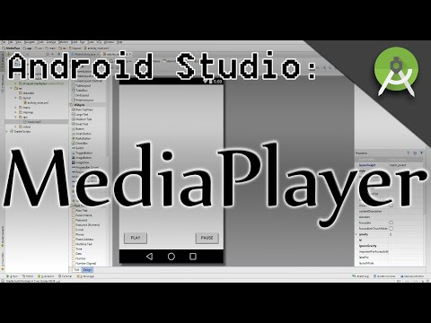 MediaPlayer with Play/Pause buttons in Android Studio
