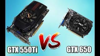 GTX 550 Ti VS GTX 650 - сравнение бюджетных видеокарт до 3.000 рублей