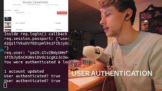 Coding User Authentication & Security   YouTube Descriptions Updater [ Part 2 ]