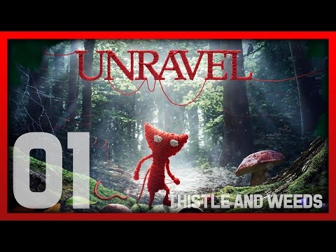 Unravel - Let's Play 1 - Thistle and weeds