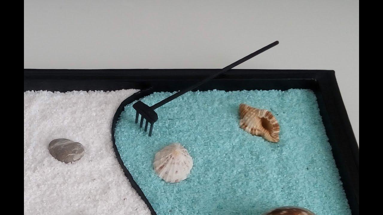 jour 4 rateau pour mini jardin zen youtube. Black Bedroom Furniture Sets. Home Design Ideas