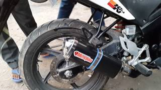 Motocross exhaust for all bikes @ bikes mantra