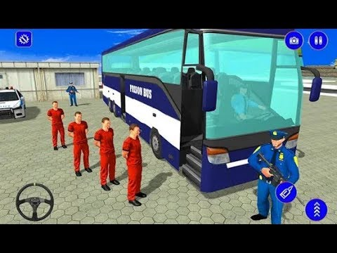 Police Transport Grand Prisoners 2019 Game Trailer | New Bus Driving Games | Android GamePlay [HD]