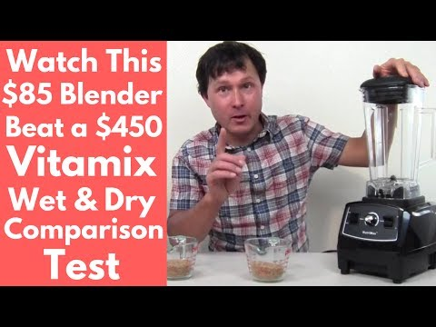 Watch this $85 Blender Beat a $450 Vitamix Blender Test Comparison
