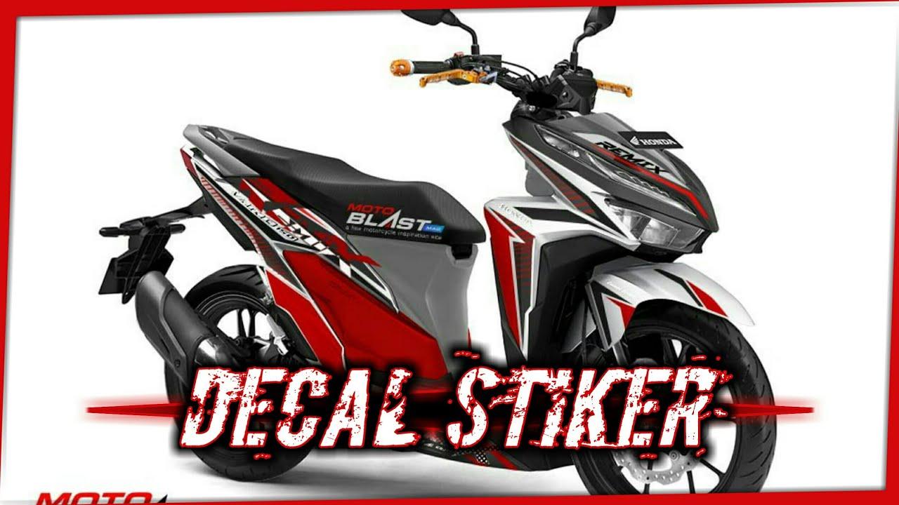 Kumpulan Modifikasi Decal Stiker Honda Vario 125-150 Esp