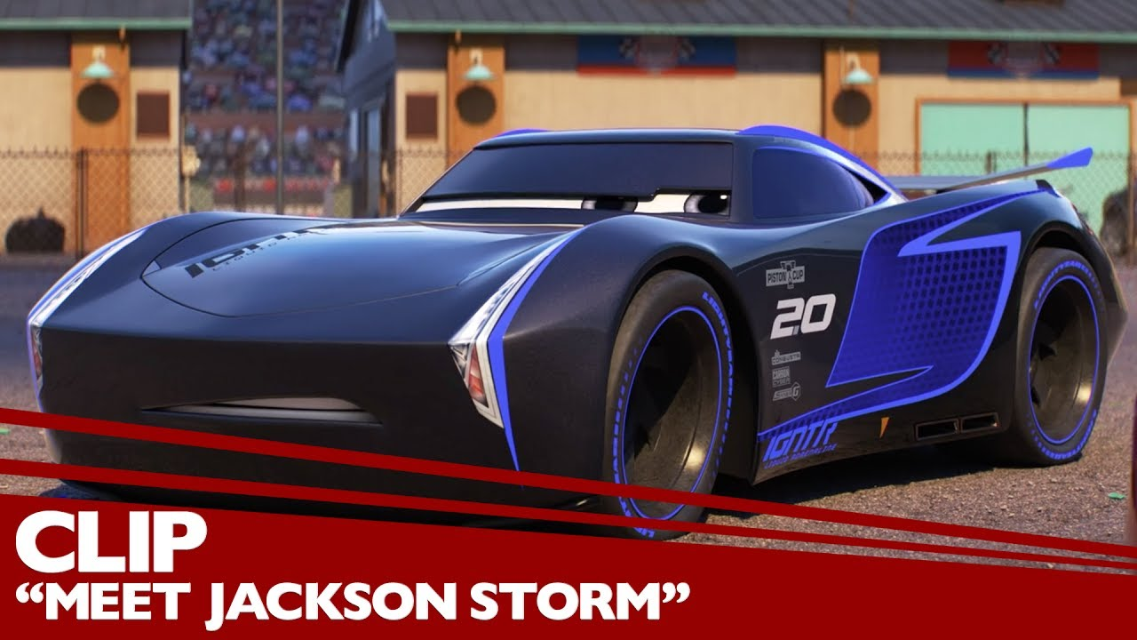 39 meet jackson storm 39 clip disney pixar 39 s cars 3 fri doovi. Black Bedroom Furniture Sets. Home Design Ideas