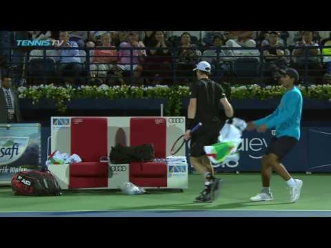 Murray v Verdasco: 2017 Dubai Tennis Highlights 4 March