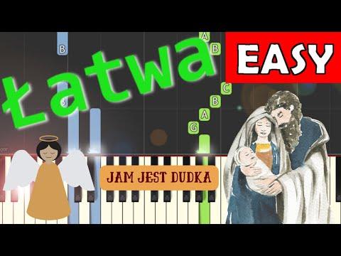 Jam jest dudka - Piano Tutorial (łatwa wersja)