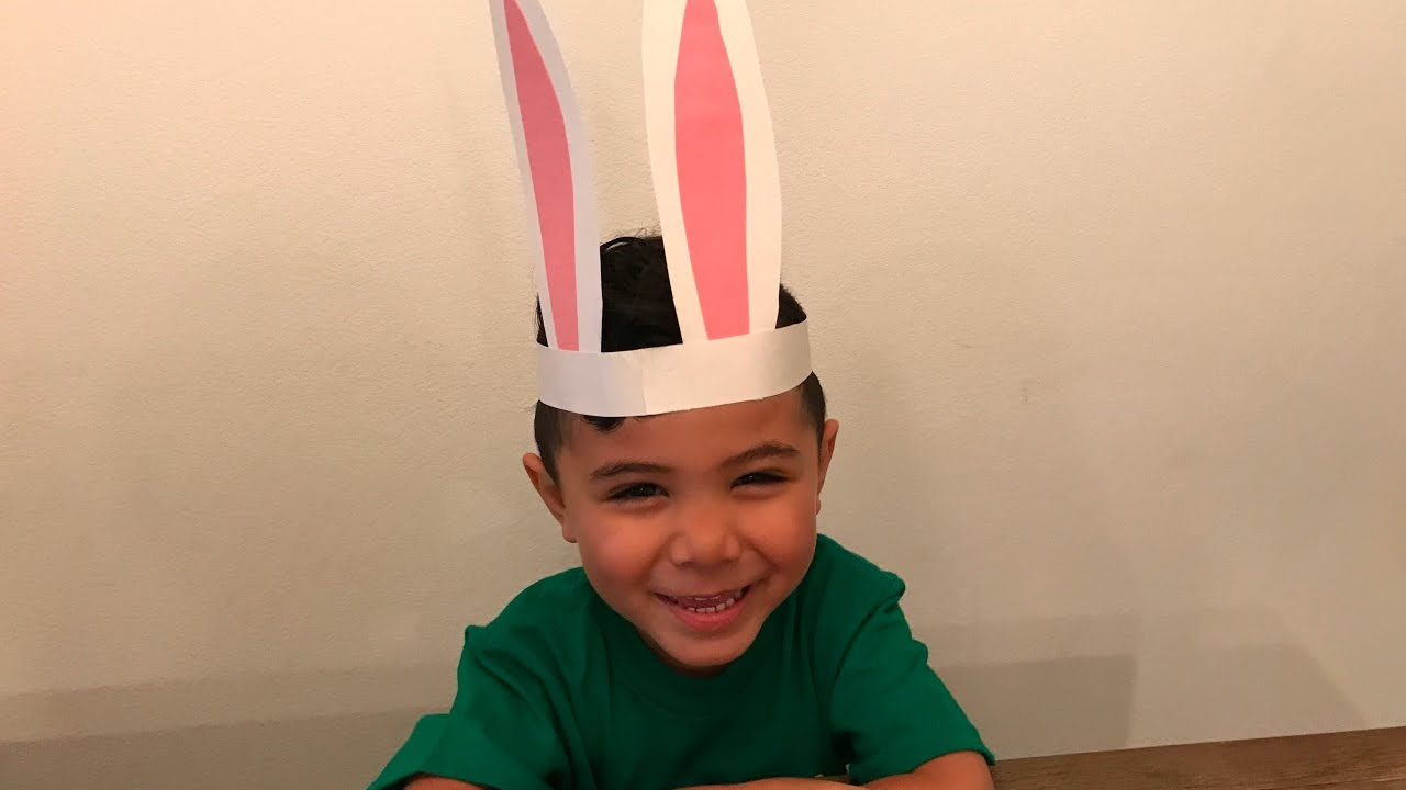 How To Make Easter Bunny Ears For Kids Simple Diy Crafts Youtube