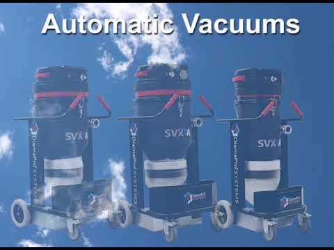 SVX Series HEPA-Filtered Vacs