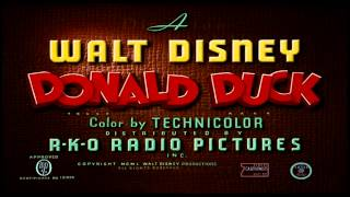 "Donald Duck - ""Corn Chips"" (1951) - recreation titles"